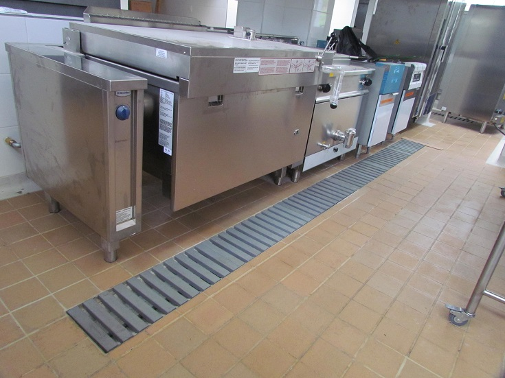 Hosteler a mrdesague for Puertas para cocinas industriales