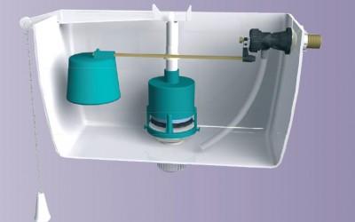 Flotadores y Válvulas de descarga de los WC