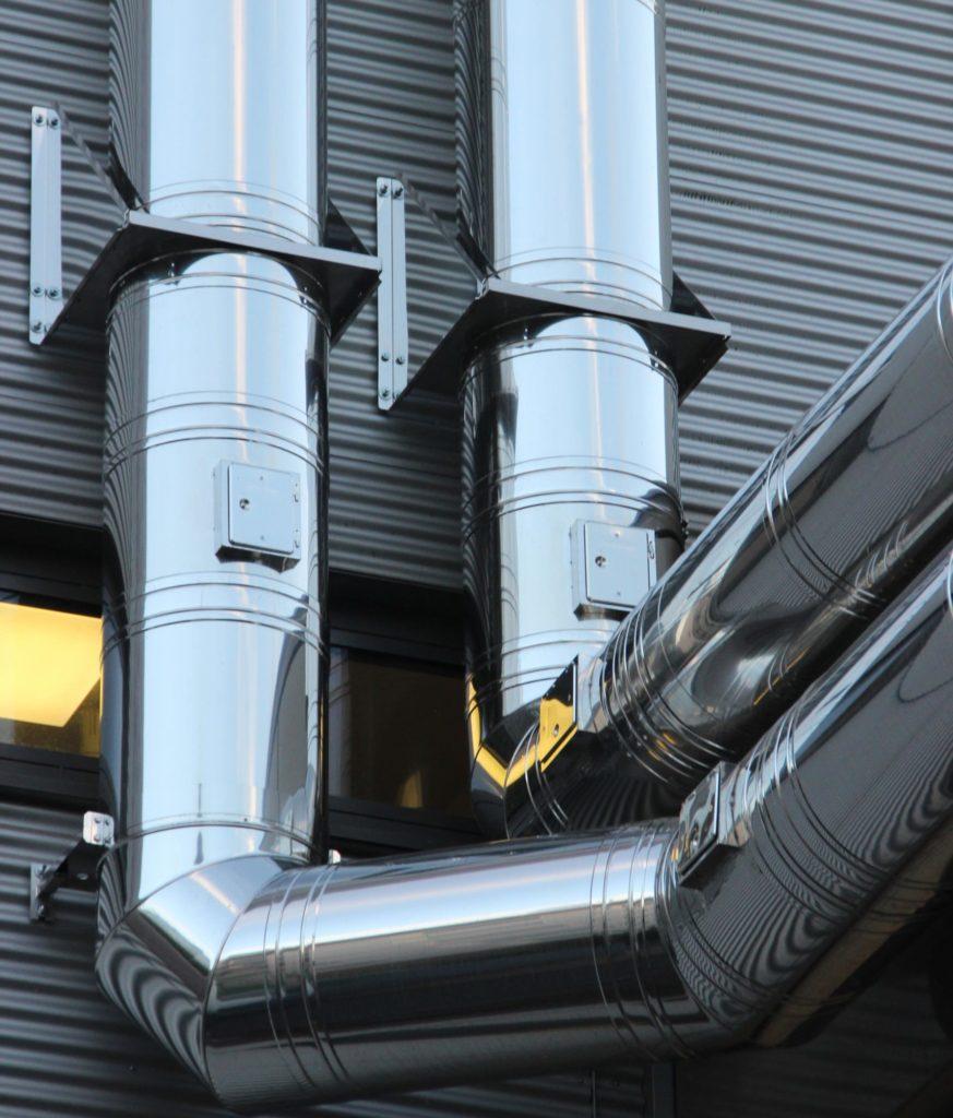 tuberías exteriores